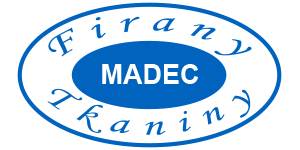 tkaniny firany madec logo