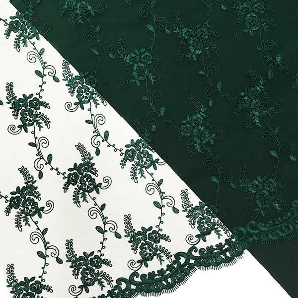 zielona koronka